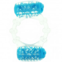 SCREAMING O COLOR POP TWO-O COCK RING BLU