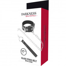 DARKNESS PENIS RING WITH STRAP