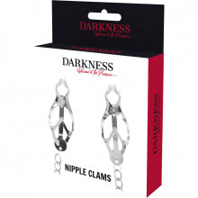 DARKNESS NIPPLE CLAMPS  WITH CHAIN